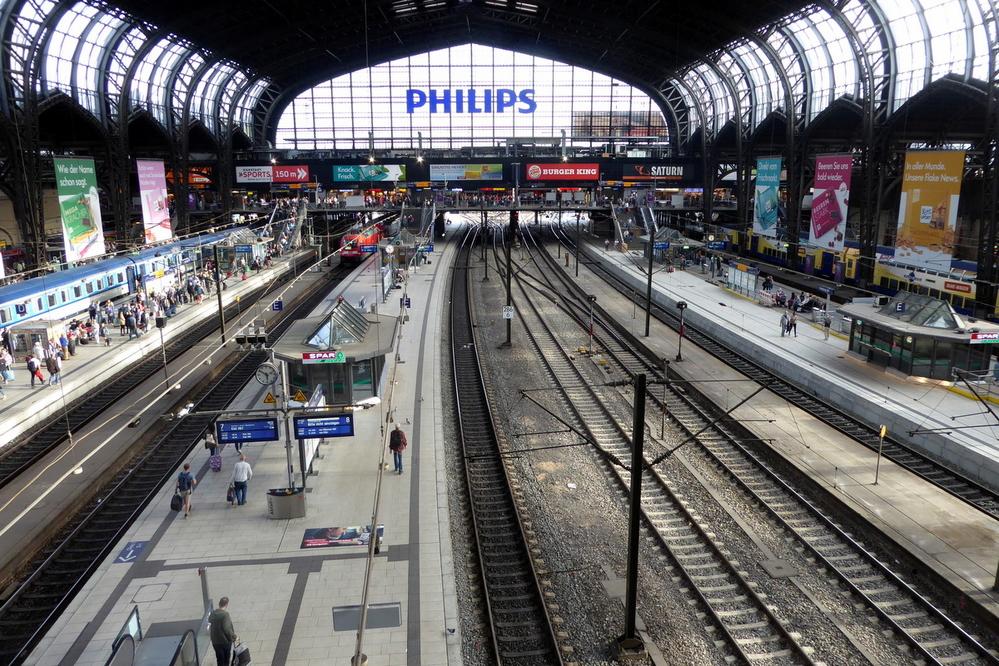 All Aboard! Hamburg Hauptbahnhof