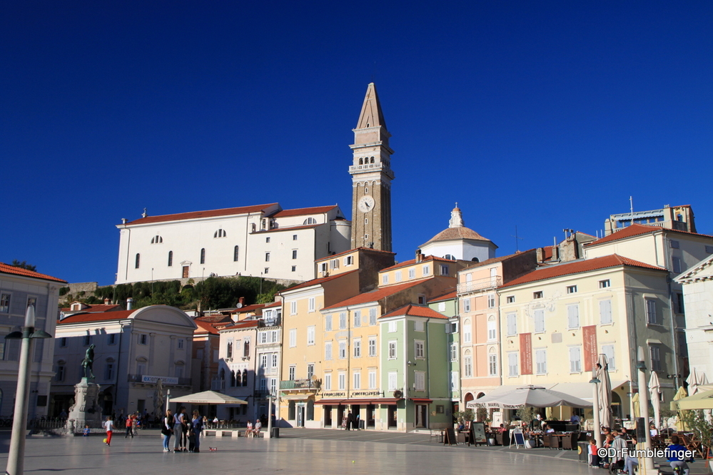 St. George's Cathedral and Belltower, Piran