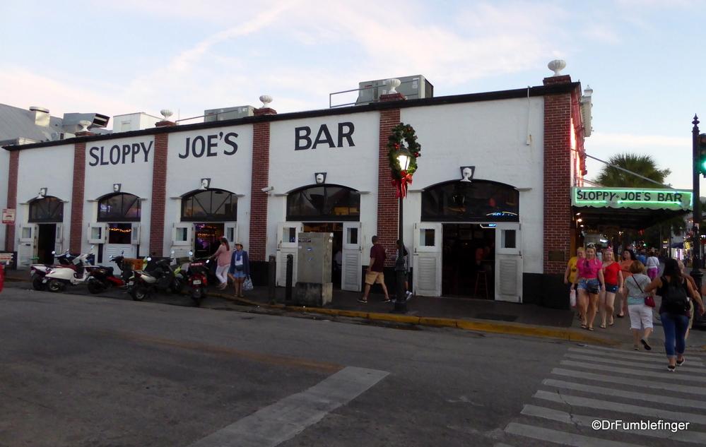 Famous Sloppy Joe's Bar in Key West