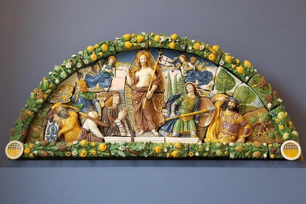 Della Robbia in Brooklyn Museum