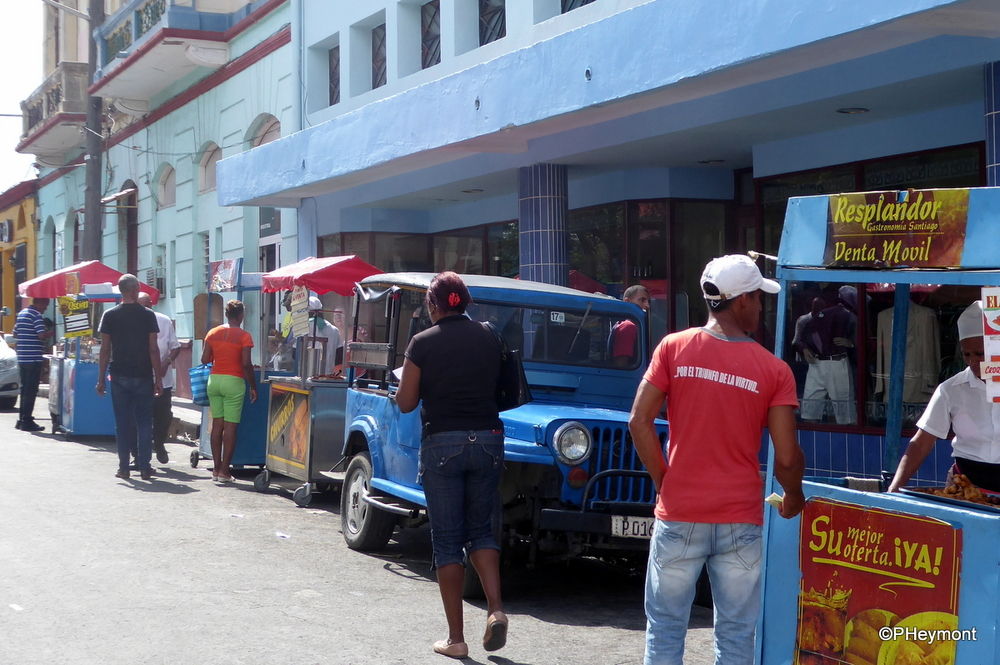 Street Food vendors, Santiago de Cuba