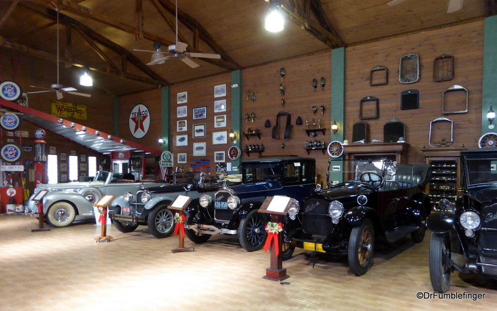 Great collection of Packards at the Fort Lauderdale Antique Car Museum