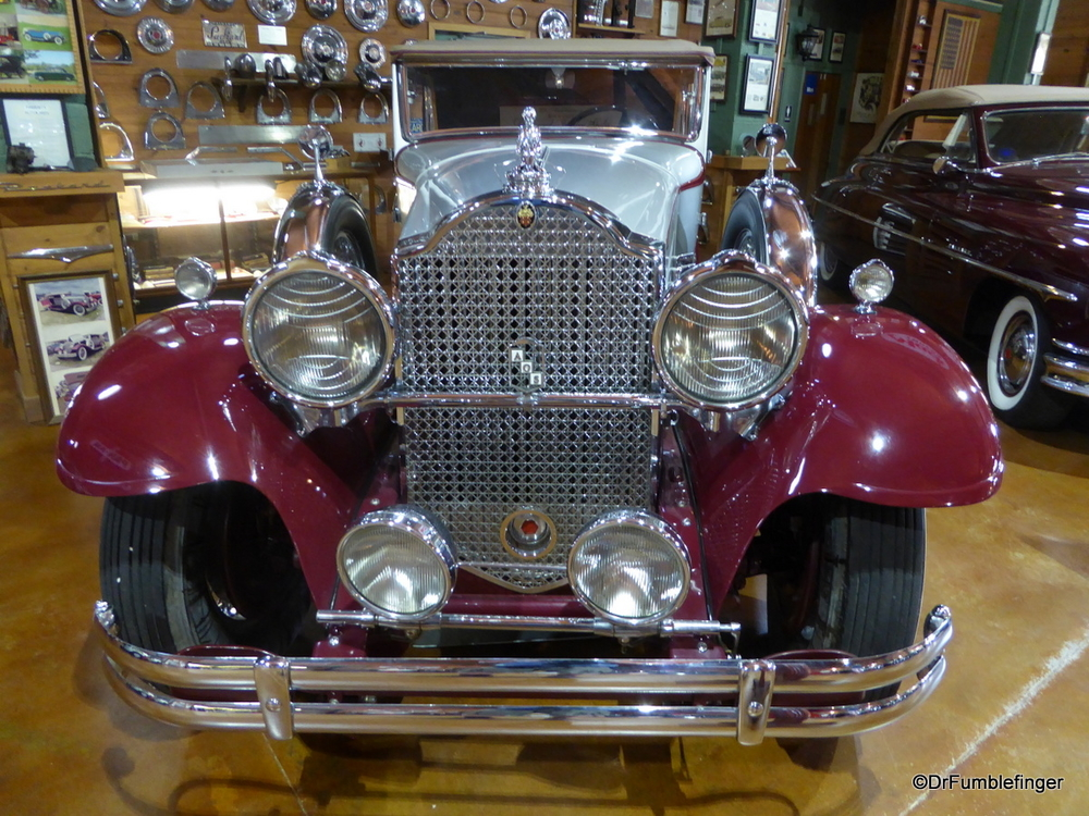 Beautiful Packard at the Fort Lauderdale Antique Car Museum