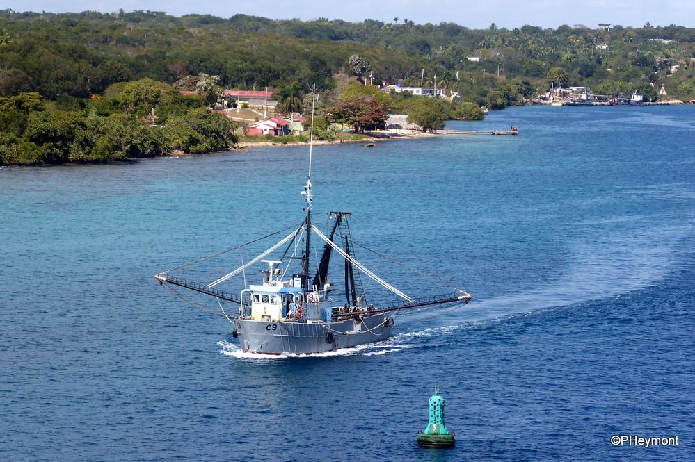 Fishing boat, Cienfuegos Bay