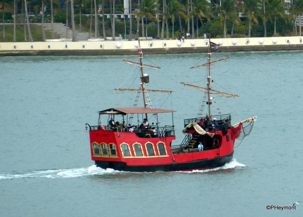 Pirates Ahoy! in Miami Harbor