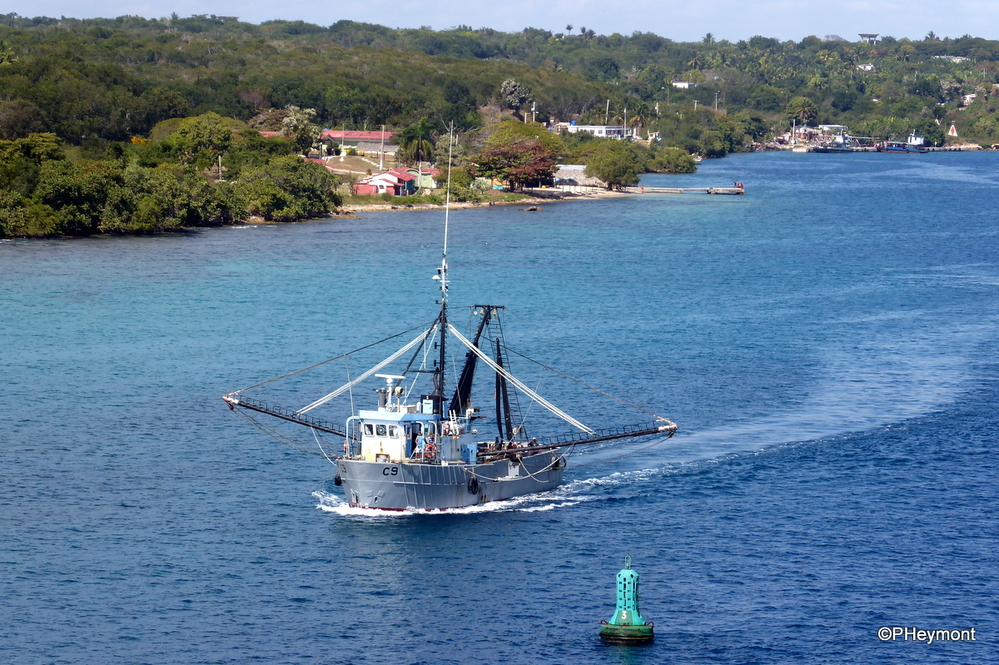 Fishing  trawler, Cienfuegos, Cuba