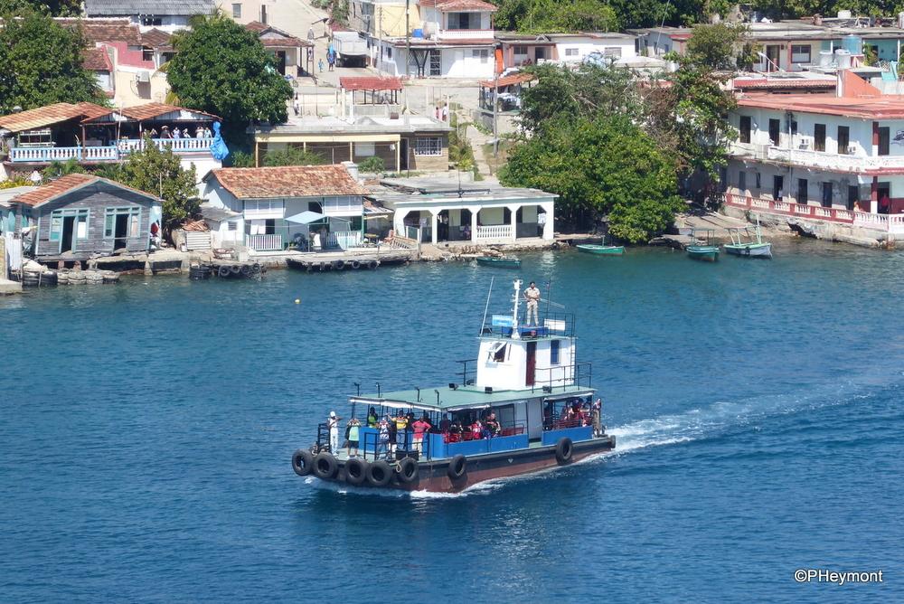 Harbor ferry, Cienfuegos, Cuba