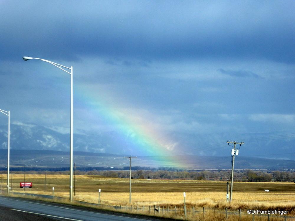 Rainbow near Bozeman, Montana