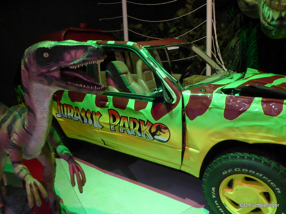 Jurassic Park movie vehicle, Celebrity Car Museum, Branson