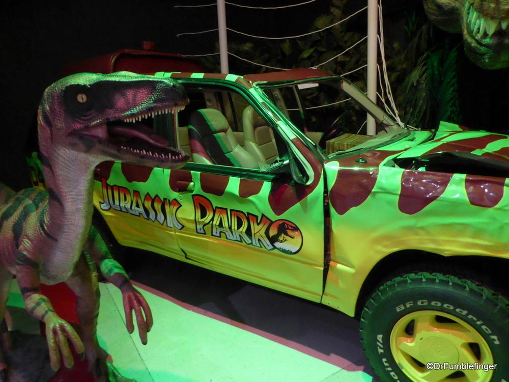 Jurassic Park movie vehicle, Celebrity Car Museum, Branson