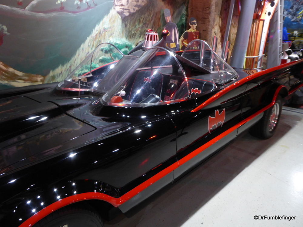 1960s era Batmobile, Celebrity Car Museum, Branson