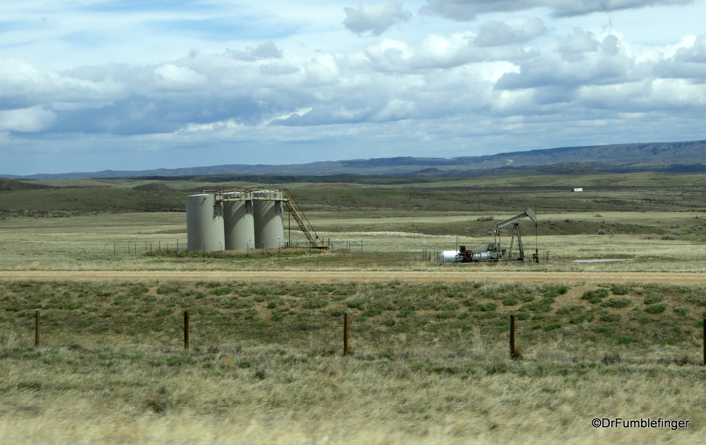 Lots more oil pumps in Montana than I remember from prior trips