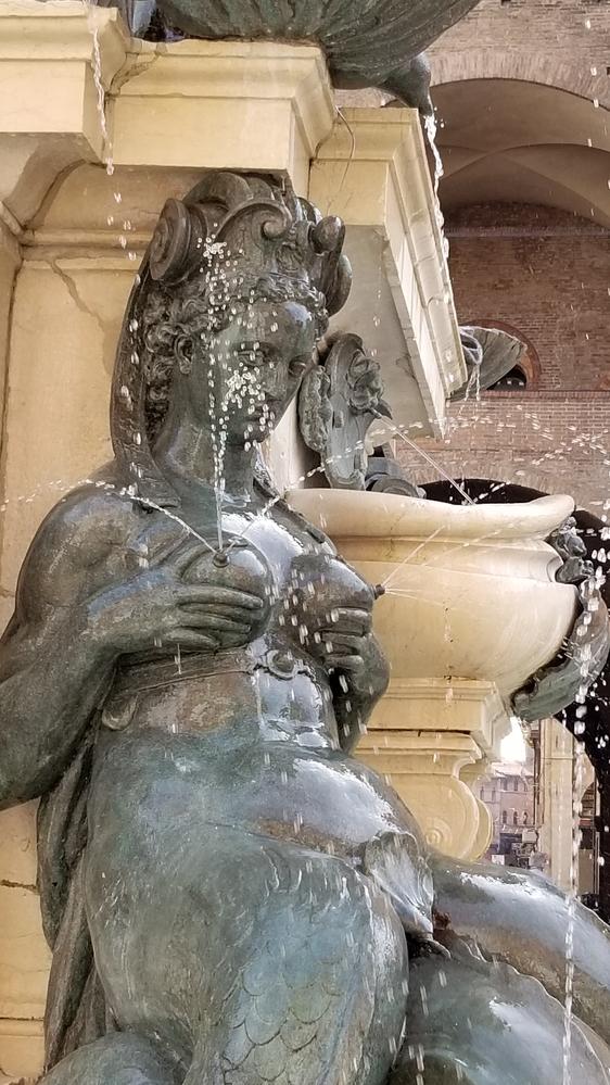 Neptune Fountain, Bologna Italy