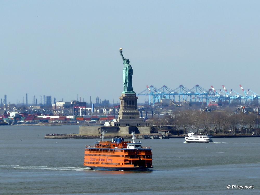 Sunday in New York Harbor