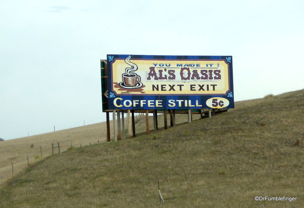 There still is a place you can get a 5 cent cup of coffee.  South Dakota
