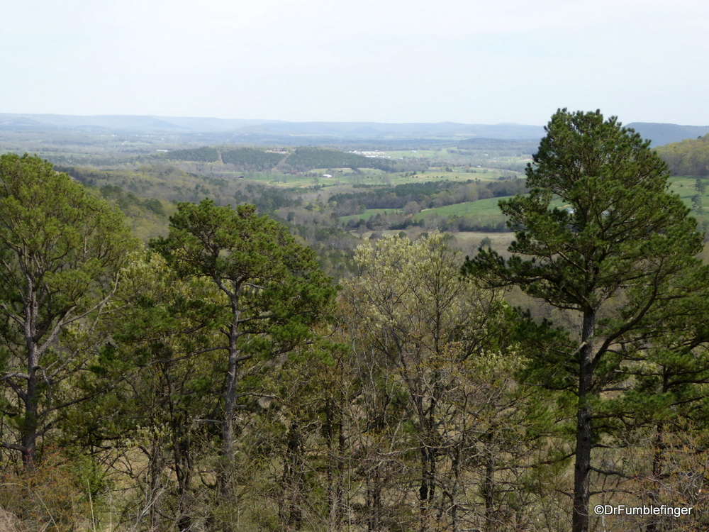 The Ozarks, near Eureka Springs, Arkansas