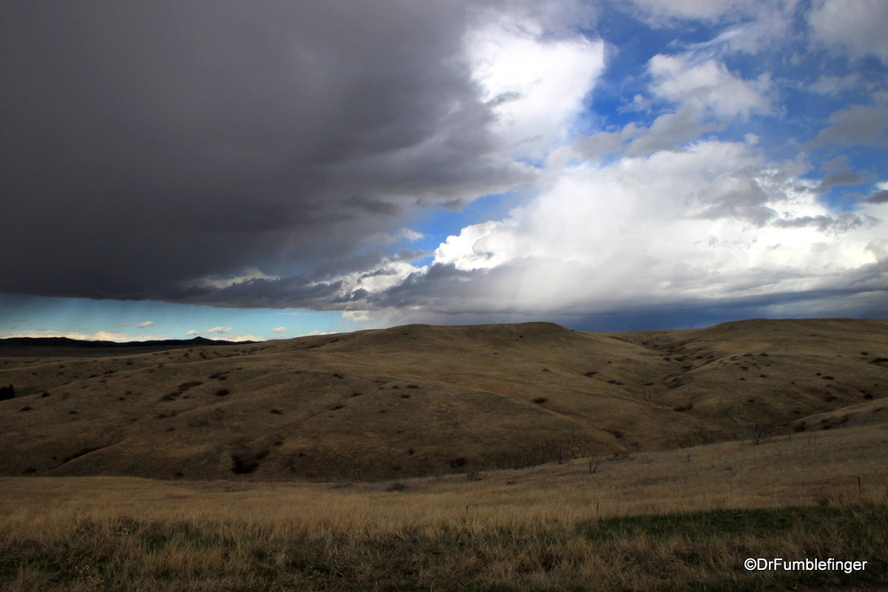 Storm over Eastern Montana