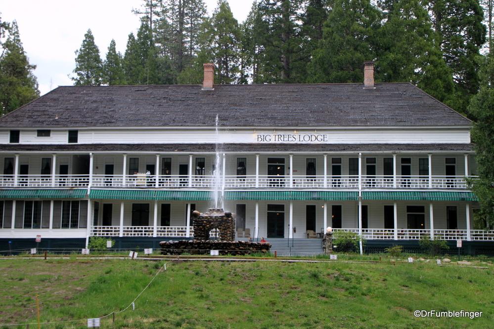 Big Trees Lodge, formerly the Wawona, Yosemite National Park