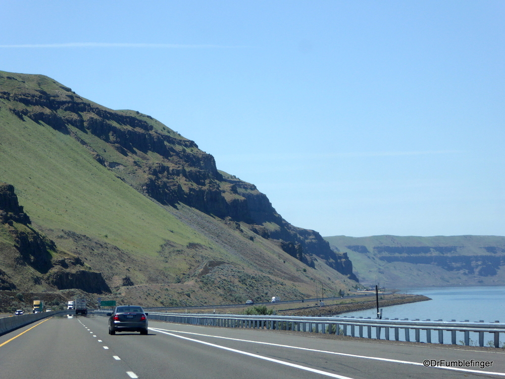 Columbia River Gorge in the interior desert portion of the state
