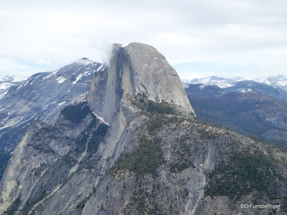 Classic view of Half Dome from Glacier Point, Yosemite National Park