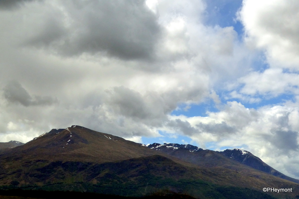 Highland Clouds and Hills