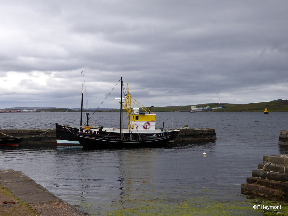 On the waterfront, Lerwick