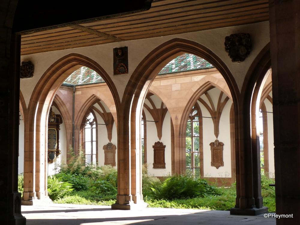 Cloister garden, Basel Münster