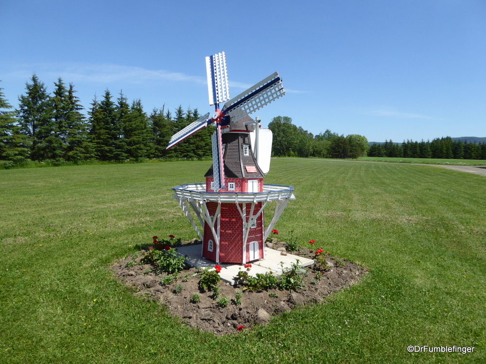 Windmill, Thunder Oaks cheese Farm, Thunder Bay