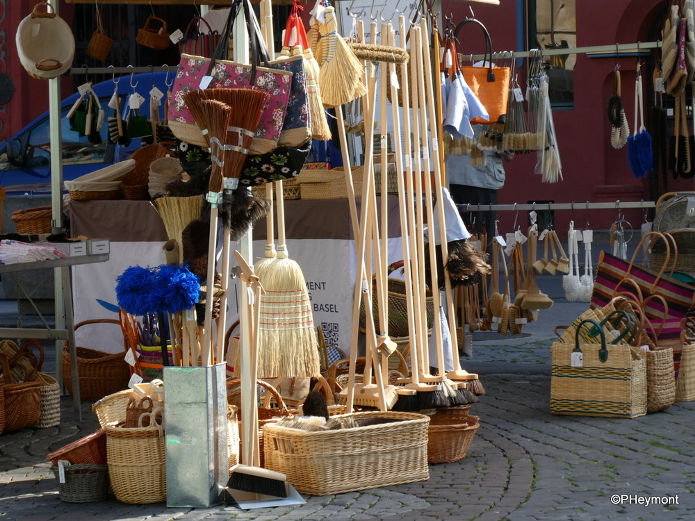 Brooms and Brushes, Basel Market
