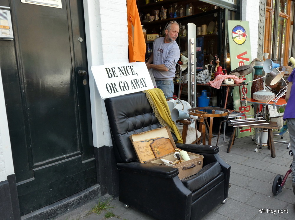 Not-so-easy chair, Amsterdam