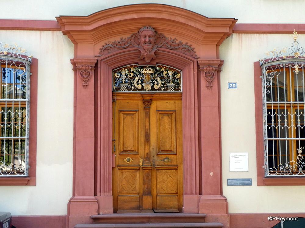 Imposing Entrance, University Hospital