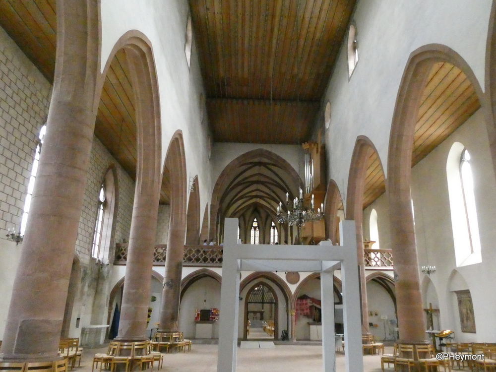 Inside the Predigerkirche