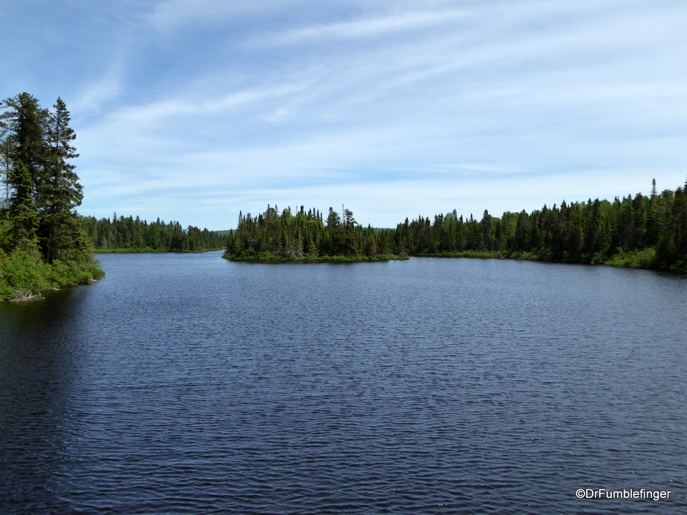 Hazelwood Lake, Part of the Canadian Shield