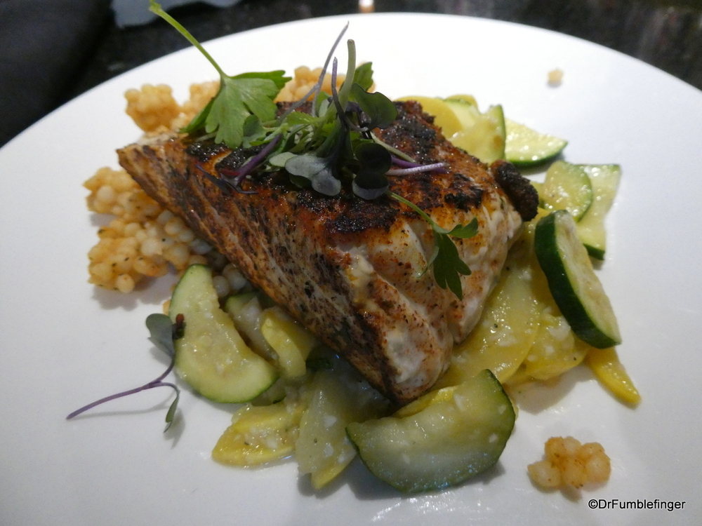 Blackened Halibut, Anchorage
