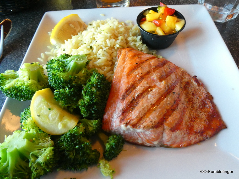 Grilled Salmon Ray S Restaurant Seward Travelgumbo