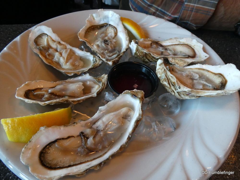 Tasty Fresh Alaskan Oysters