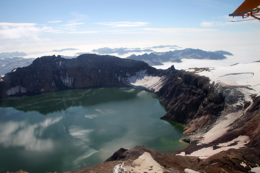 Crater Lake, high in the Coastal Mountains