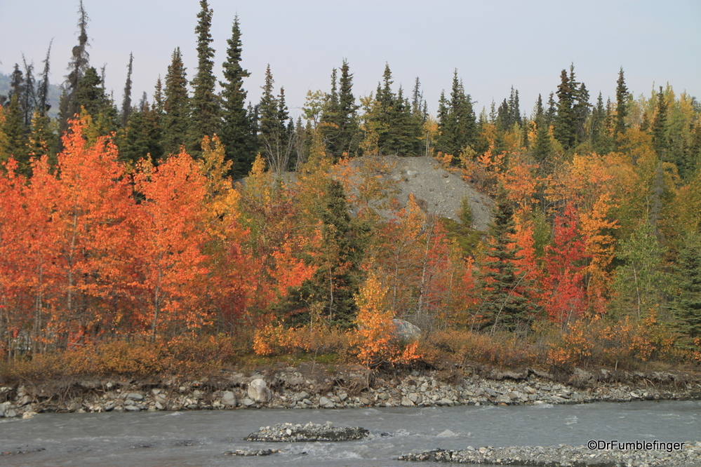 Fall colors, Alaska