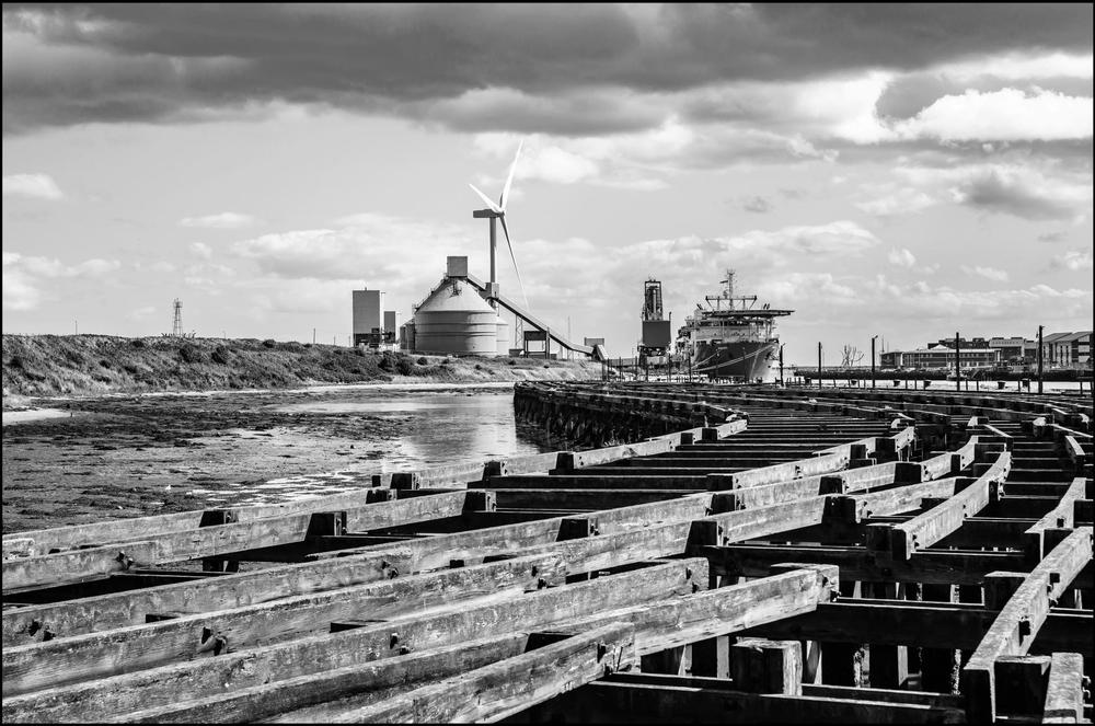 Old Wharfe, Port of Blyth Northumberland.