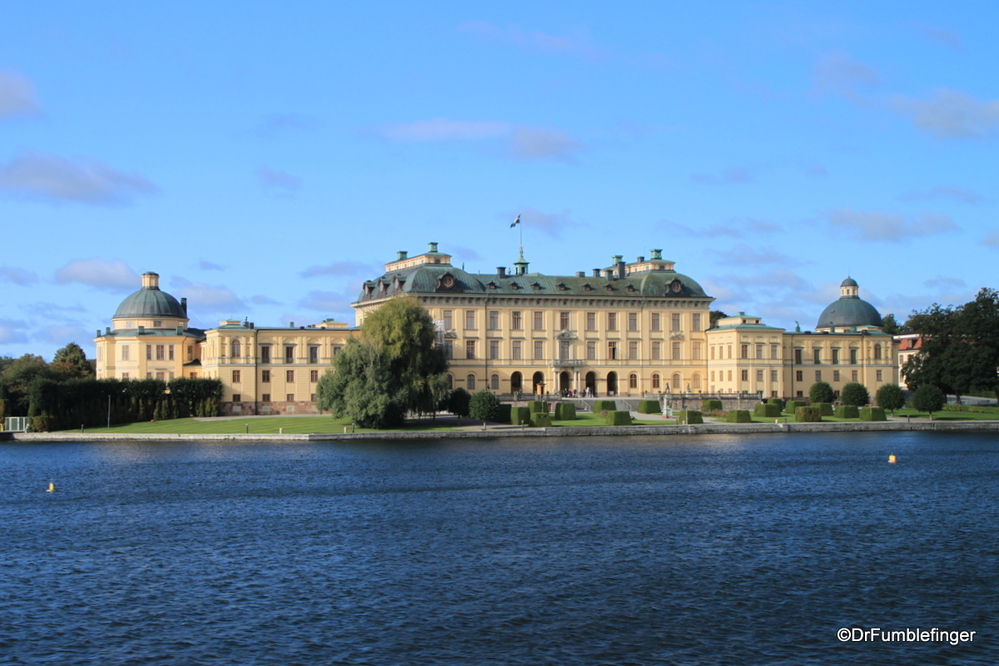 Drottningholm Palace, home of the Swedish Royal Family