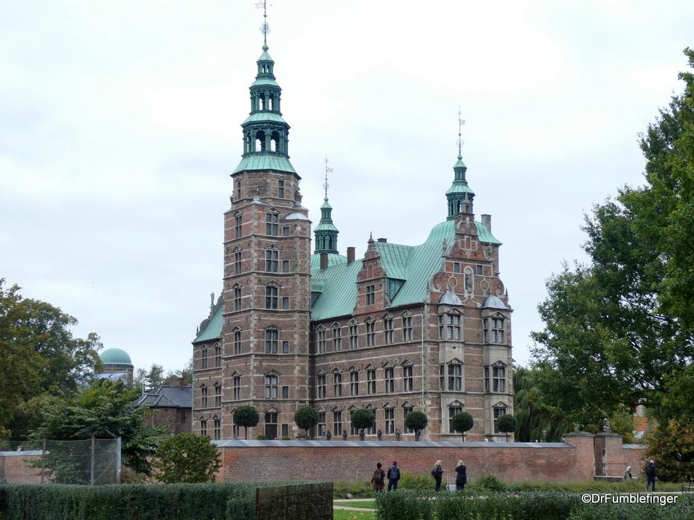 Historic Rosenborg Castle in Copenhagen, home of Denmark's most important king, Christian IV