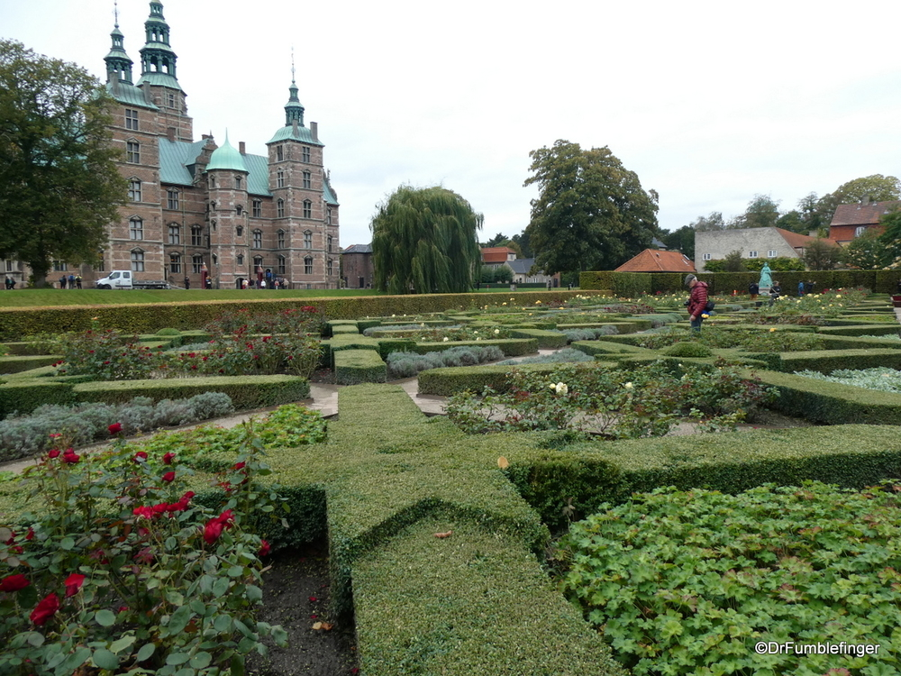 Rose Garden and Rosenbourg Castle, Copenhagen