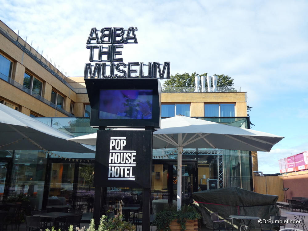 Abba, Sweden's best known musical export, now has its own museum.  Stockholm