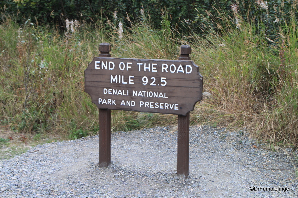 """""""End of the Road"""", Denali National Park"""