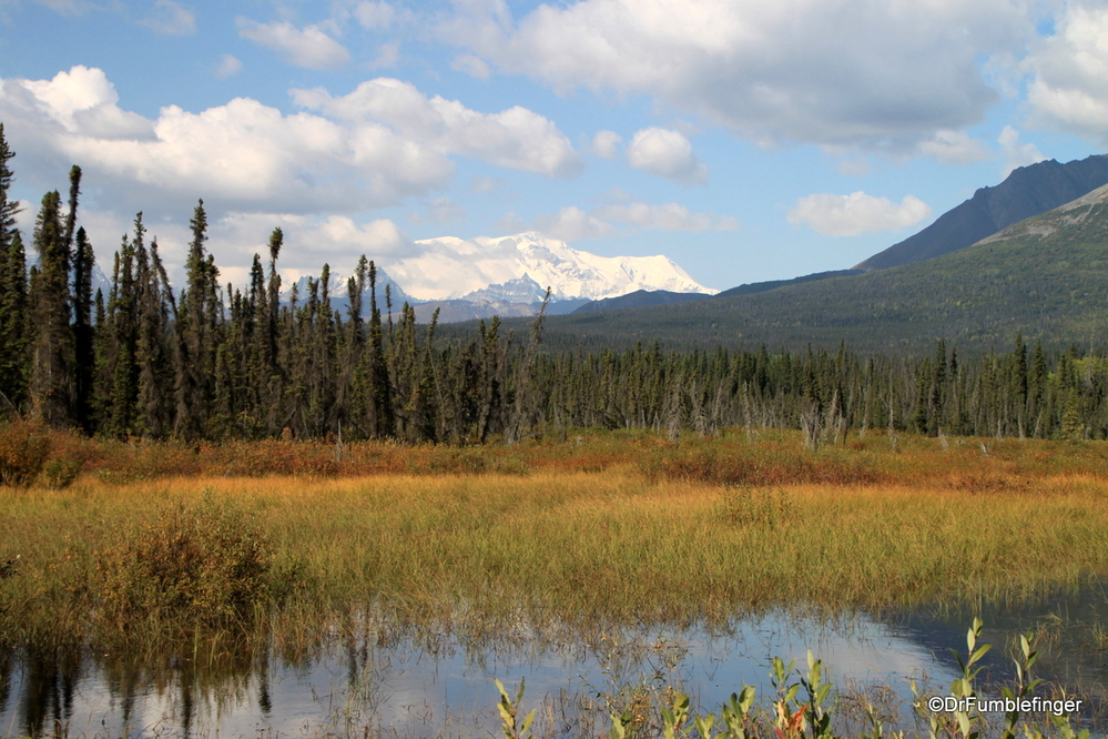 Scenes from the road to McCarthy, Wrangell-St. Elias National Park
