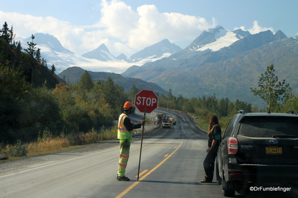 Alaska Highway construction, near Valdez