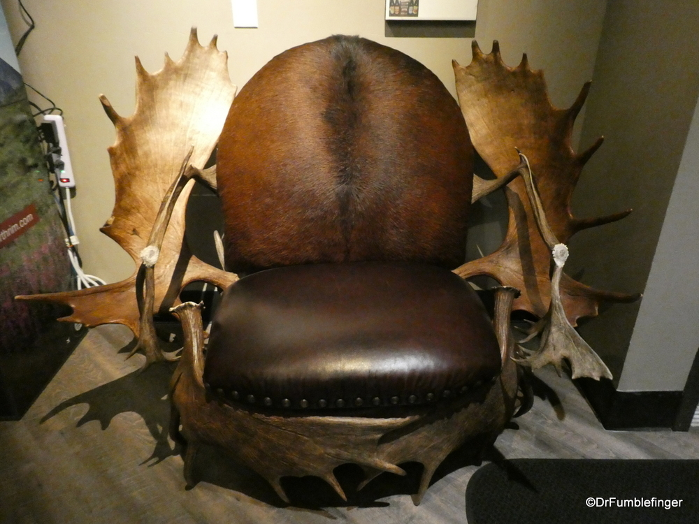 A rather unusual chair, Anchorage.