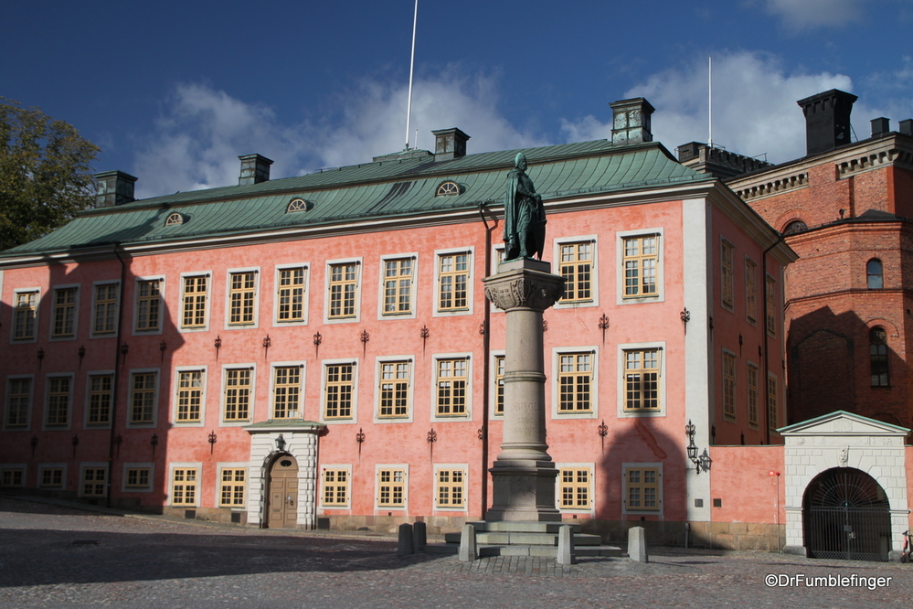 Old palace on Ridderholmen island, Stockholm