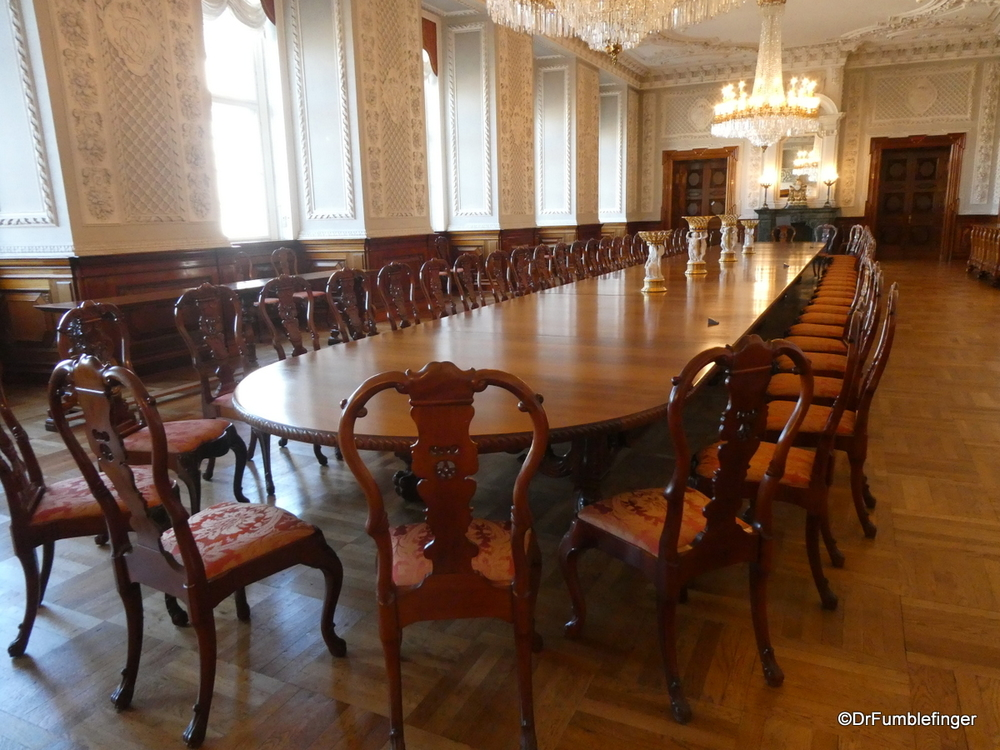 Dining room at Christianborg Palace, Copenhagen