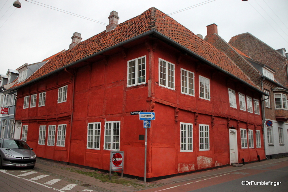 Old home in Helsingor
